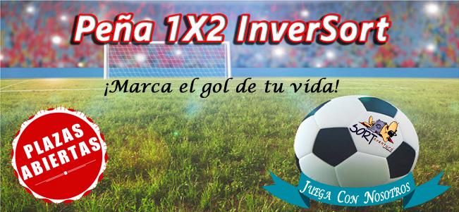Peña Quiniela 1X2 Inver Sort plazas abiertas apuntate