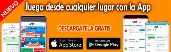 App Loteria Sort Aventura Descargar