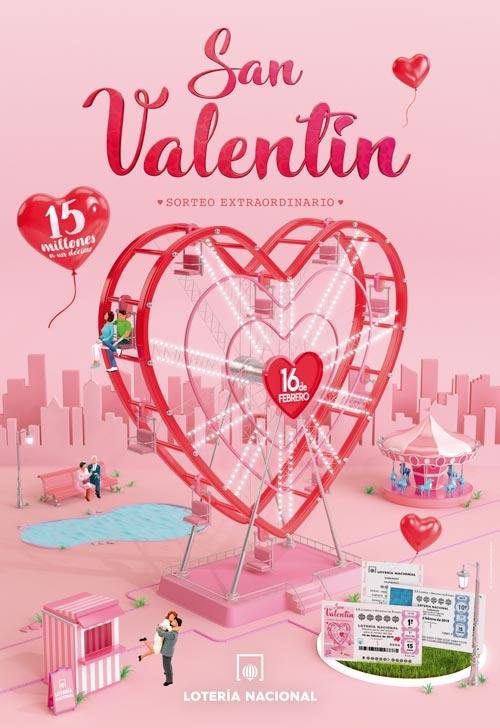 Sorteo Extraordinario De San Valentín Lotería Nacional Sort Aventura