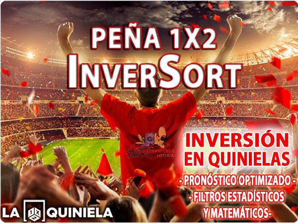 Peña 1X2 Inversort para las jornada de quiniela de Liga