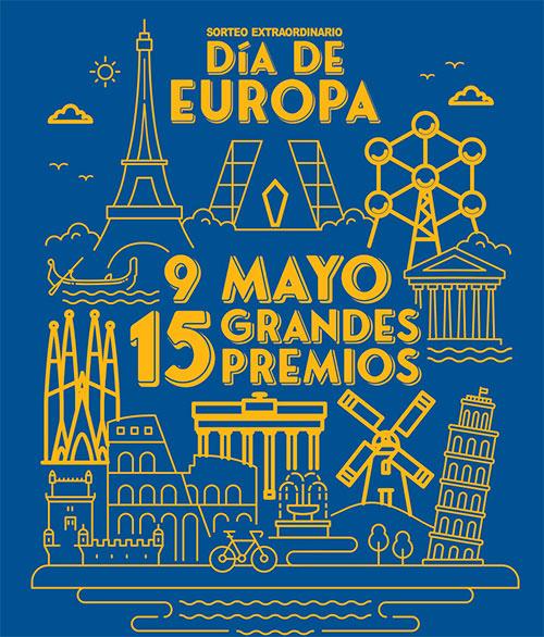Compra Loteria del sorteo del día de Europa